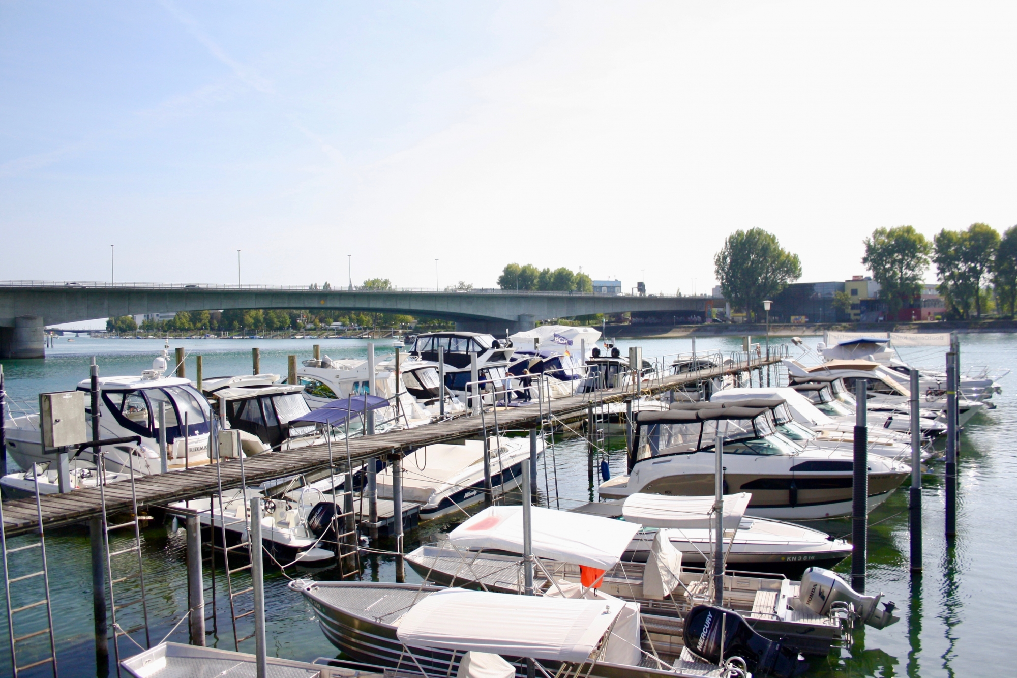 Liegeplätze BootCenter Konstanz