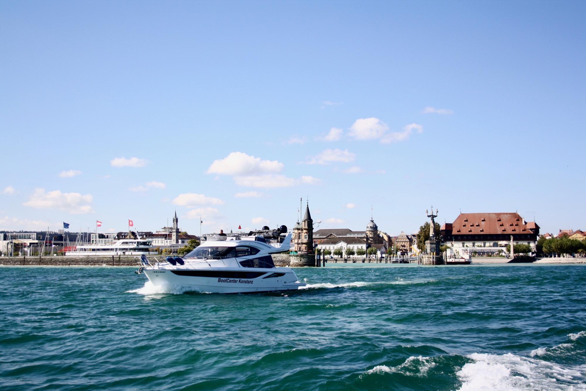 Neuboot auf dem Bodensee