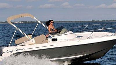 B2 Marine Cap Ferret 675 Sun Deck