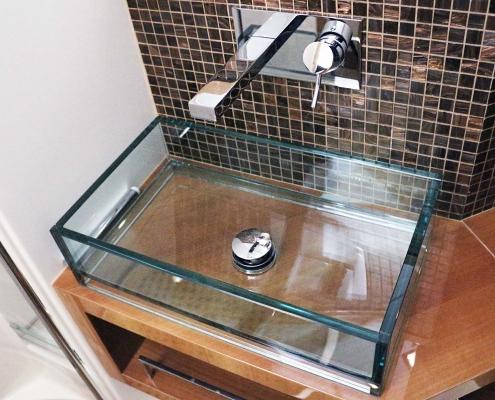 Badezimmer Bugkabine