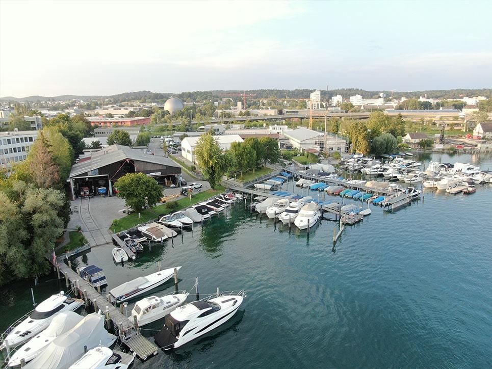 Marina vom BootCenter Konstanz